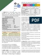 aula19_quimica2_exercícios (Solução Tampão e Indicadores Ácido-Base  Aula 19 (Química II))
