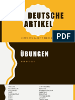 Der deutsche Artikel