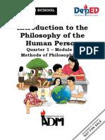 PHILO_Q1_Mod2.1_Methods of Philosphizing