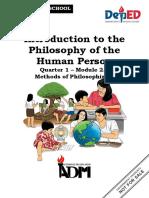 PHILO_Q1_Mod2.2_Methods of Philosphizing