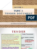 LECTURE 3 TENDER DOCUMENT (1)
