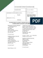 Shareholder Plaintiffs' Brief