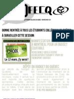 InfoFECQ Rentrée H2011
