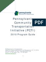 PennDOT PCTI Program Guide