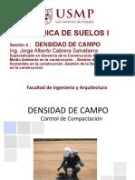 4. DENSIDAD DE CAMPO
