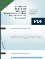 Présentation BP Dossier Financier