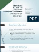 Présentation BP Introduction Générale