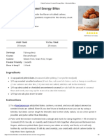 Salted Cashew Caramel Energy Bites - Minimalist Baker