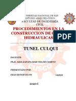 Diaz Monge, Elvis Tunel de Culqui