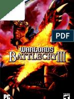 Warlords Battlecry III Manual English