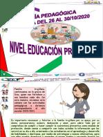 Guia Pedagogica Educacion Primaria Semana Del 26 Al 30-10-2020