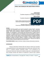 TERAPIA NUTRICIONAL NAS DOENÇAS INFLAMATÓRIAS INTESTINAIS