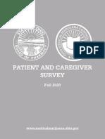 2020 Ohio Medical Marijuana Patient and Caregiver Survey