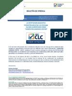 Boletin de Prensa CLC Gonzaga