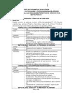 Bases de Proceso de Seleccin Practicas Unsa 2020 Convertido
