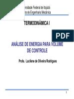 Capítulo 4 - Análise de energia para volume de controle