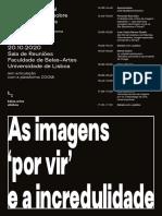 AS IMAGENS POR VIR E A INCREDULIDADE_cartazprograma