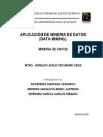 Aplicacion mineria de datos