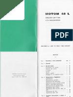 Motom 48 L Manuale