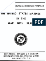 The United States Marines in the War With Spain