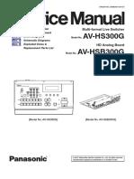 Panasonic AV HS300G