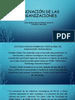 INNOVACIÓN DE LAS ORGANIZACIONES