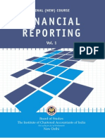 Financial Reporting Vol. - 1
