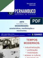 Modernismo Características, Manifestações e Movimentos