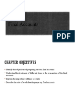 final accounts with case solution & dindorf solution