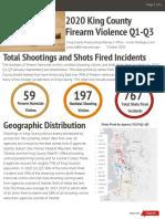 2020 King County Firearm Violence Report