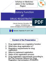 FINAL DRUG REGISTRATION for Barbados.pps