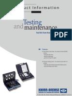 Testing & Maintenance Tools