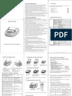 PT-380 user's manual portugues