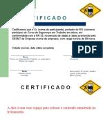 Certificado de treinamento de NR 35 modelo Nestor.ppt