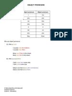 objectpronouns