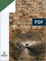 ARCHIVO DEFENSORIA DEL PUEBLO RELATOS VISIBLES