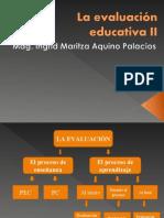 La evaluación educativa II.ppt