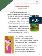 Lectura - El Renacuajo Paseador - Rafael Pombo