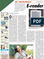 E-reader verovert Curaçao (AD 8 januari 2011)