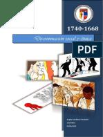 Discriminacion social y etnica, Reporte