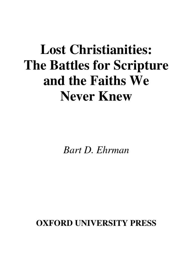 Lost christianities bart ehrman gospels paul the apostle fandeluxe Images