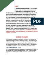 Informe DELA CONTAMINACIÒN EN lA REGIÒN lA lIBERTAD
