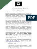 Combat Corruption - Time for Decisive Action -Nov24,2010