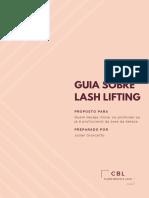 Guia sobre Lash Lifting