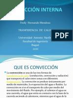 TRANSFERENCIA  DE  CALOR TRABAJO  CONVECCION  Interna2