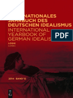 (International Yearbook of German Idealism, Volume 12) Dina Emundts, Sally Sedgwick - Logik _ Logic-Walter De Gruyter (2014).pdf