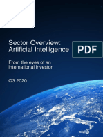 White Star Capital 2020 Artificial Intelligence Sector Report