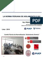 LA NORMA PERUANA DE AISLAMIENTO E.031 VER 01 2018