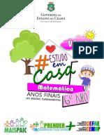 #ESTUDOEMCASA - MT - 6º ANO - VOL.6