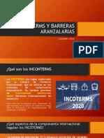 INCONTERMS Y BARRERAS ARANZALARIAS
